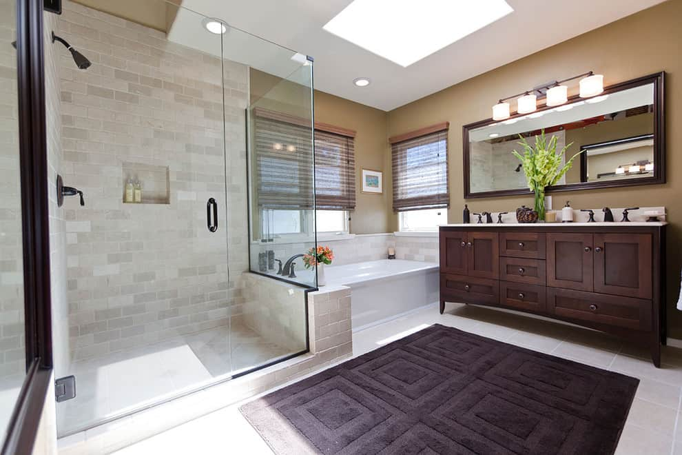 19 double vanity bathrooms that will make your lives easier homesthetics inspiring ideas for your home - Bathroom Remodel Double Sink