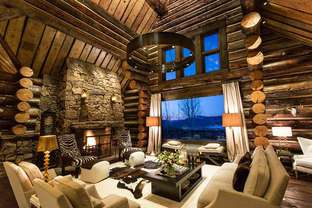 20 breathtaking mountain cabins that will take you to a Mountain home interiors