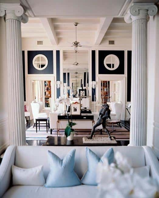 Modern Interior Design Decorating With Columns 28 Homesthetics