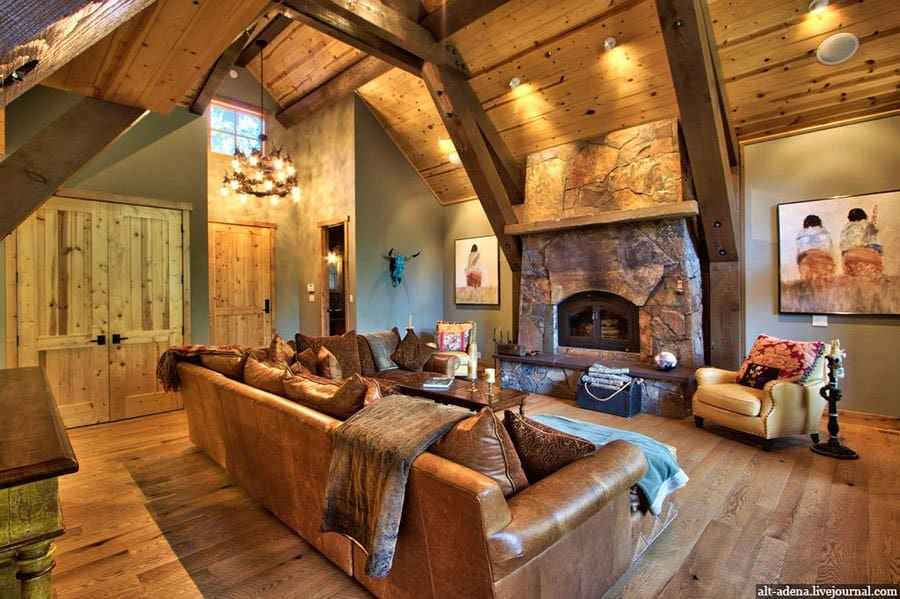 mountain homes interiors 20 breathtaking mountain cabins that will take you to a 14302