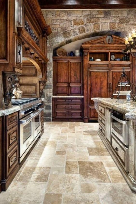 French Country Kitchen Tile Flooring 29 ways to materialize an awe-inspiring french country kitchen