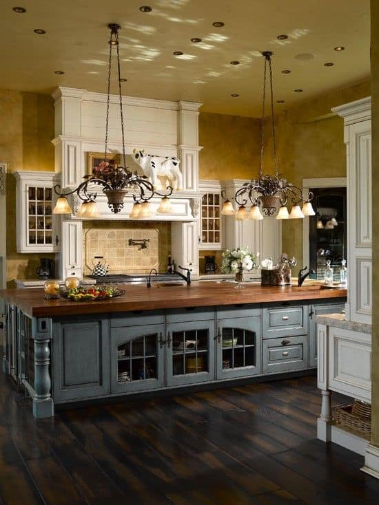 Charmant French Kitchen KITCHEN ISLANDS