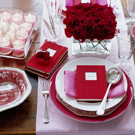 romantic valentines day table settings 49