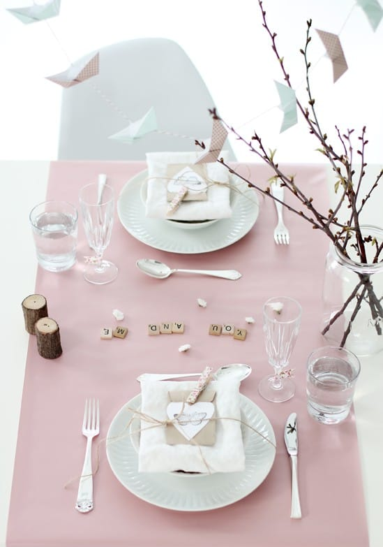 romantic valentines day table settings 5
