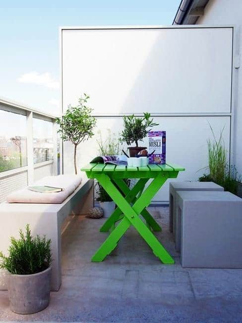 small spaces balcony designs outdoor furniture 23