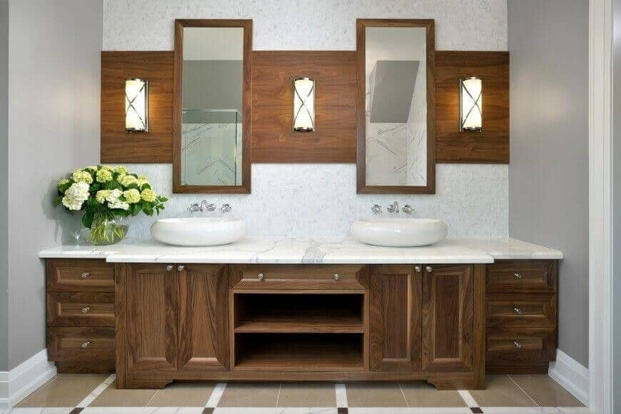 two mirrors 12 vertex project management white grey home