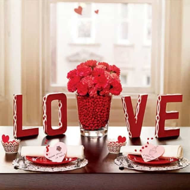 valentine table centerpieces diy valentine39s day table decorations settings and centerpieces