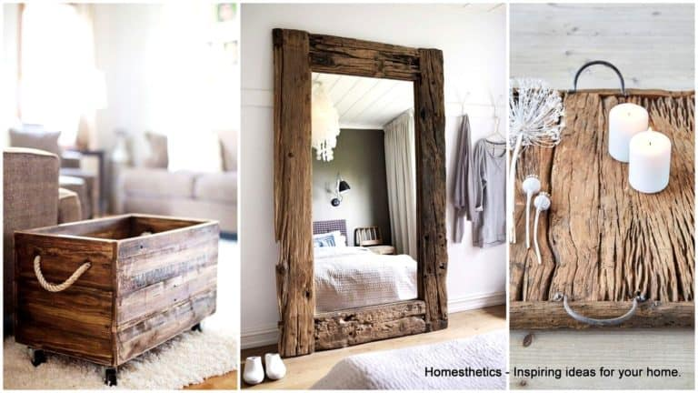 20 Charming DIY Reclaimed Wood Projects That Will Add Warmth To Your Home