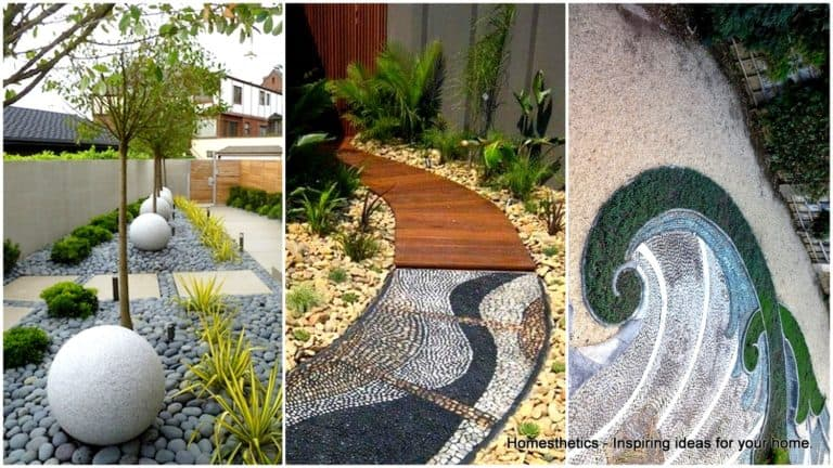 21 Incredible Pebble Landscapes That Will Enhance Your Yard