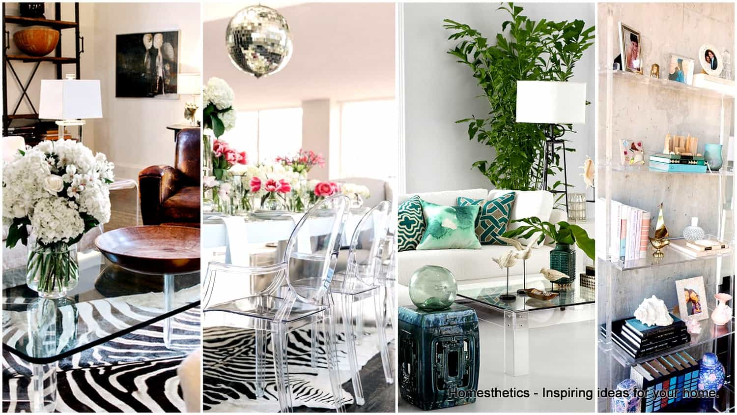21 Remarkable Acrylic Furniture Ideas For A Spacious Home