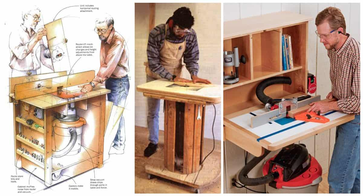 49 free diy router table plans for an epic home workshop greentooth Gallery