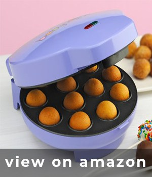http://www.amazon.es/s/?field-keywords=Babycakes%20CP-12%20Cake%20Pop%20Maker%2C%2012%20Cake%20Pop%20Capacity%2C%20Purple