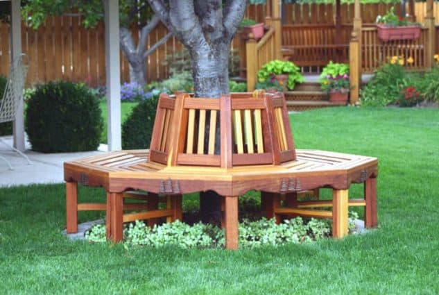 20 Smart Garden Bench Designs That Will Enhance Your Backyard