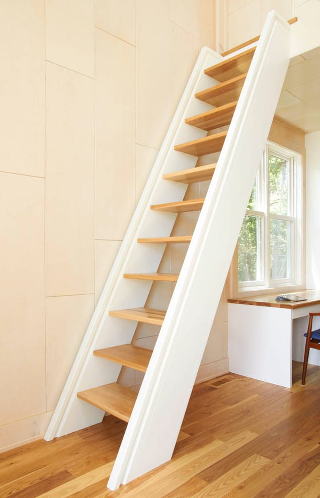 A Space Saving Staircase