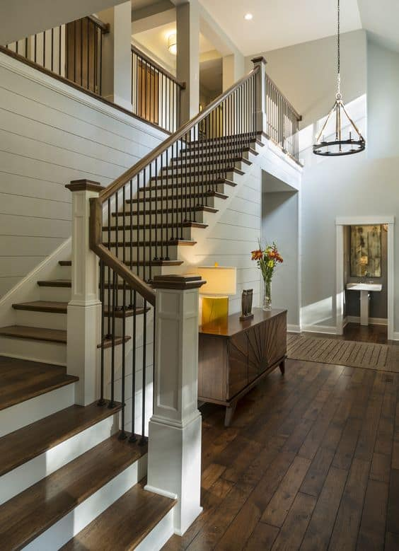 Architecture stairs 101 types of stairs materials designs explained for Home designer stairs with landing
