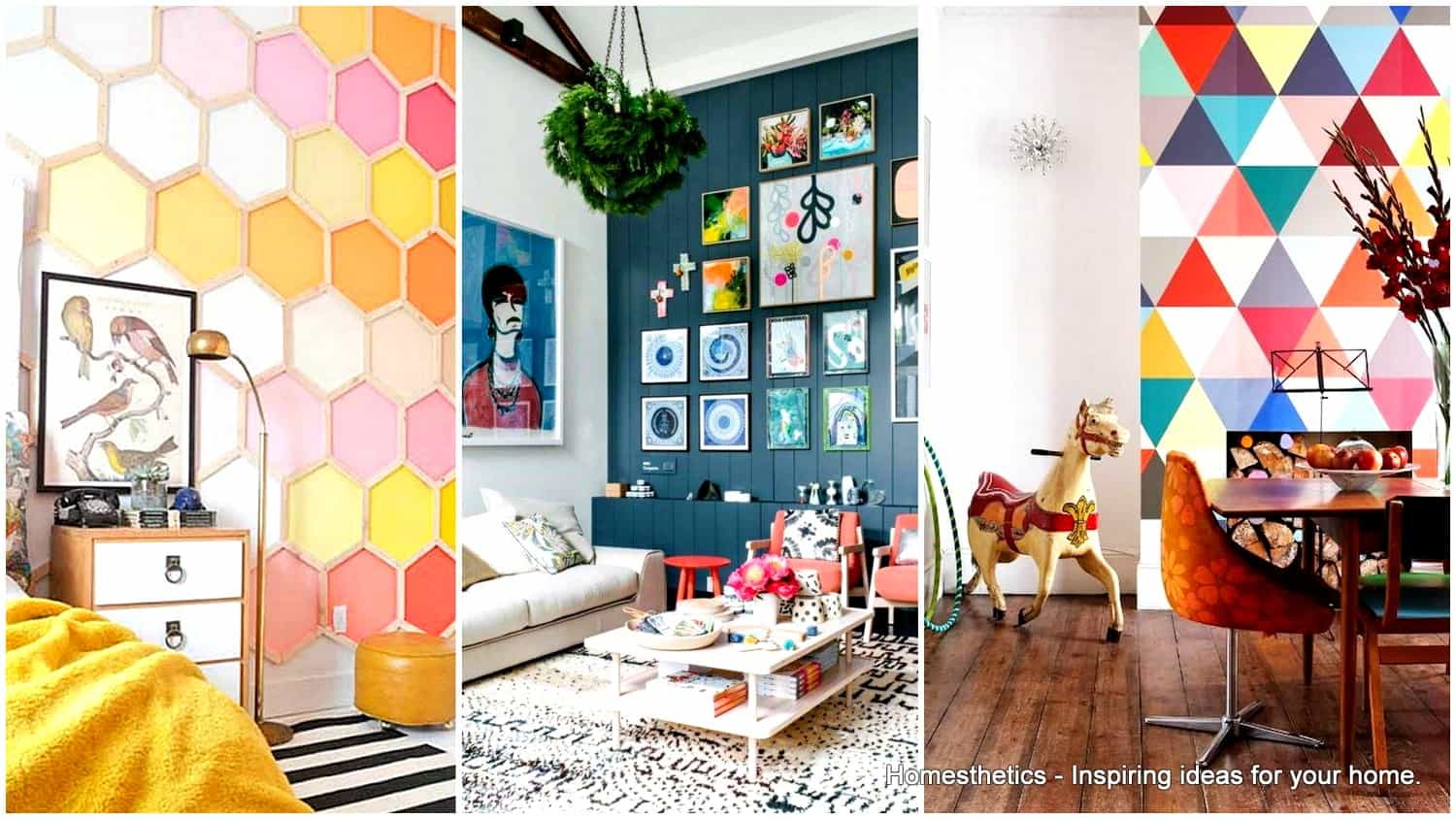 Inspirational Statement Walls Ideas That Will Spice Up Your Living Space