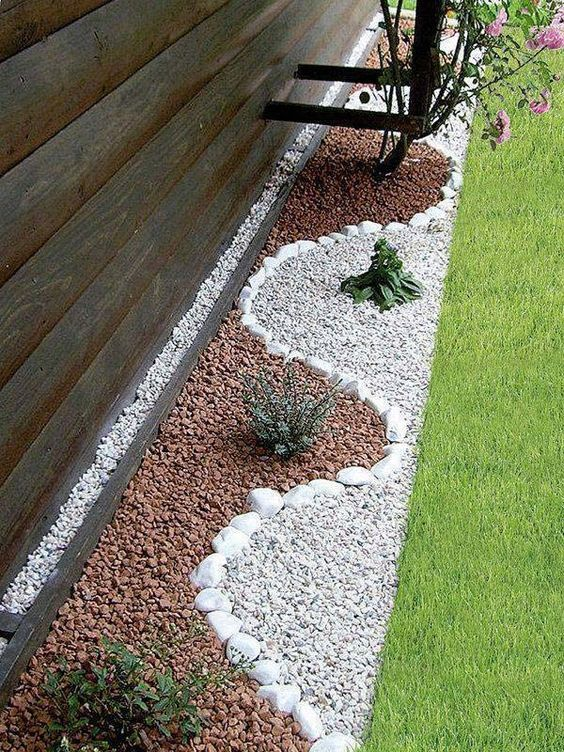 21 Incredible Pebble Landscapes That Will Enhance Your ... on Pebble Yard Ideas id=11422