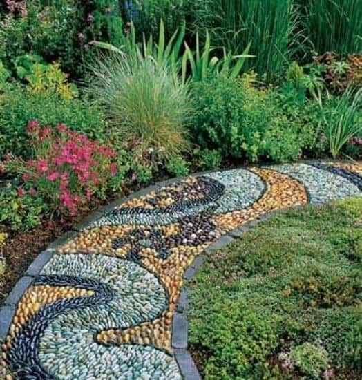 40 Different Garden Pathway Ideas: 21 Incredible Pebble Landscapes That Will Enhance Your