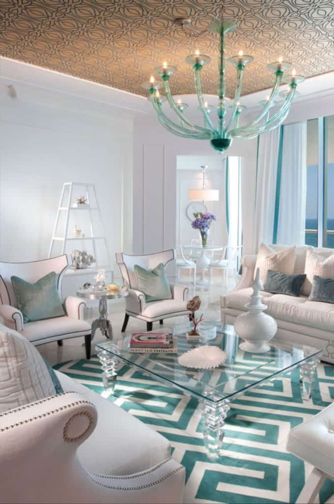 Turquoise Living Room Curtains Interior Design Is Always