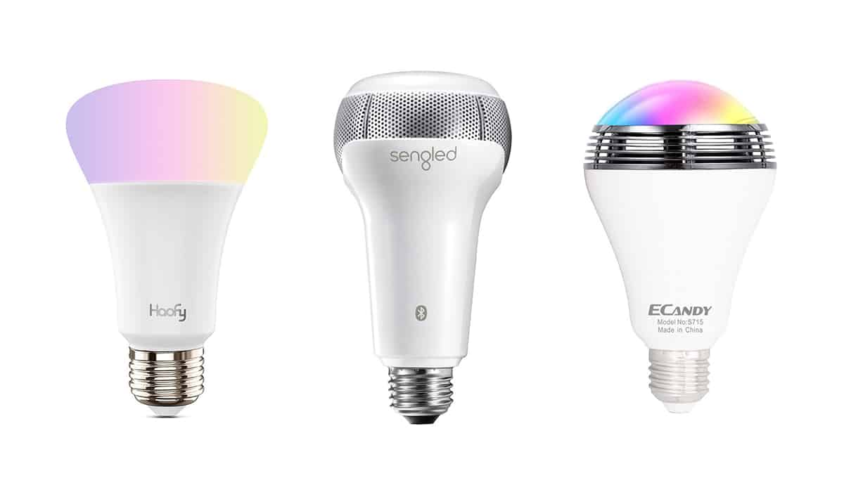 10 Best Bluetooth Light Bulb Speaker to Rock in 2018