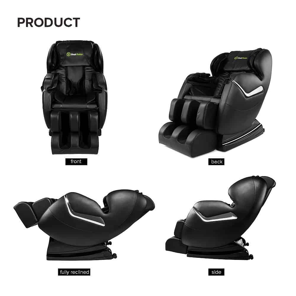 Review of the Favor 3|Real Relax Massage Chair Recliner - Heated, Full Body Shiatsu, Zero Gravity