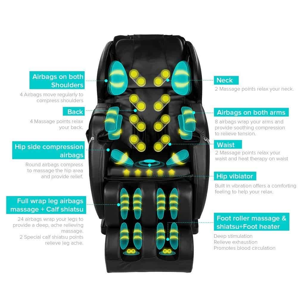Review of the Favor 3|Full Body Shiatsu Massage With Zero Gravity