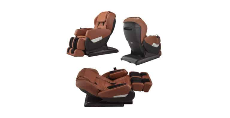 RELAXONCHAIR MK IV Full Body Zero Gravity Shiatsu Massage Chair with Built in Heating and Air Massage