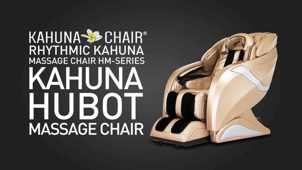 EXQUISITE 3D KMS-08M-225L HSL-TRACK KAHUNA MASSAGE CHAIR HM-078 HUBOT