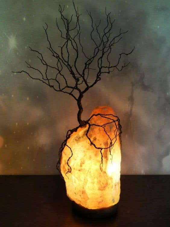 How to tell if your salt lamp is real authentic guide for Diy rock salt lamp