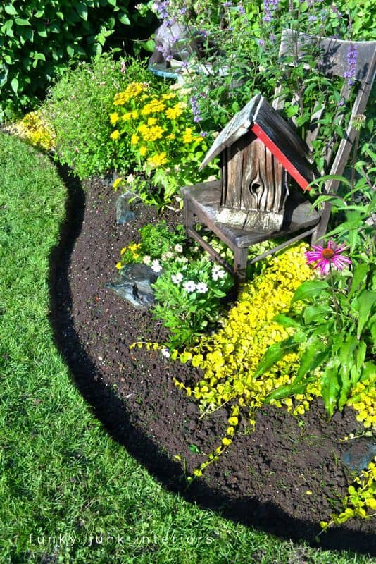 38. Create a Natural Garden Edge