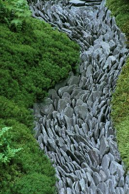 69. Japanese Slate Garden Edging