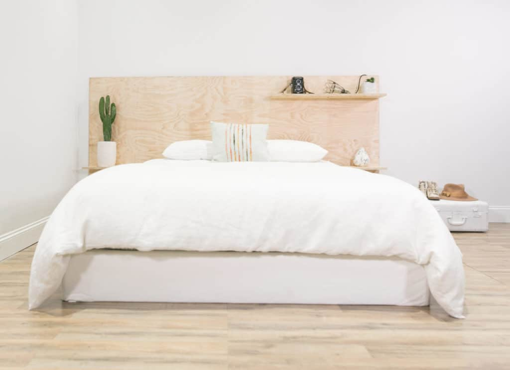 Plywood Headboard