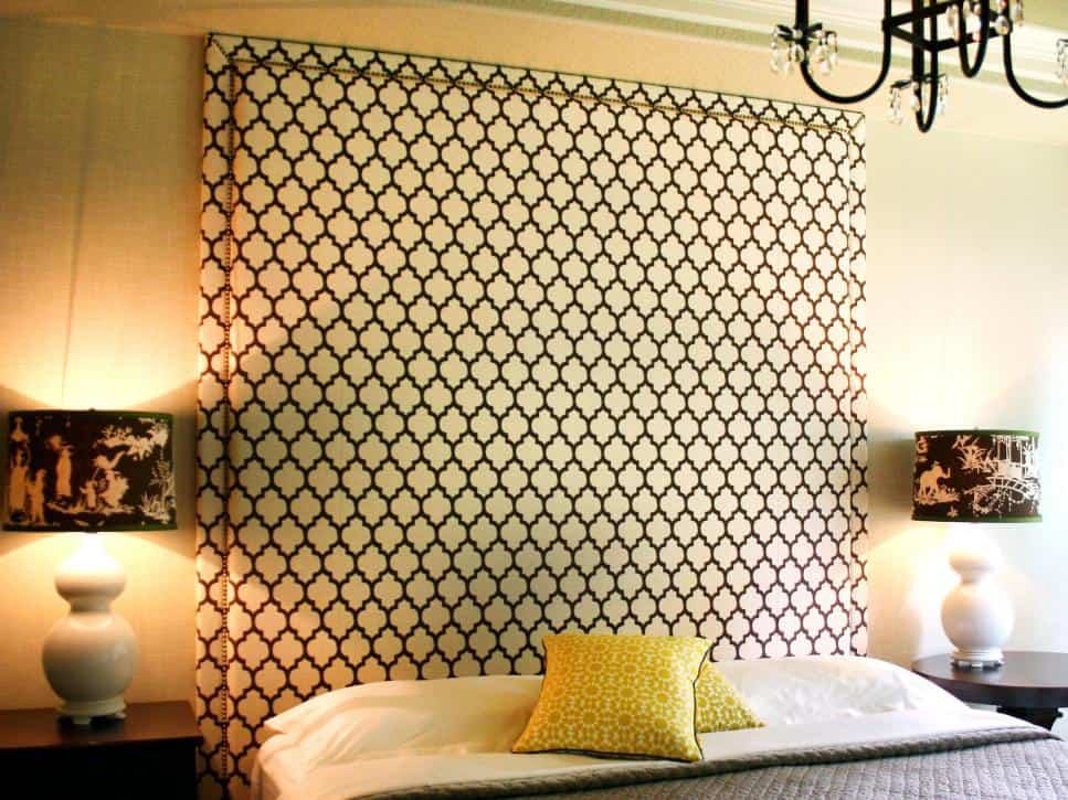 Statuesque and Dramatic Headboard