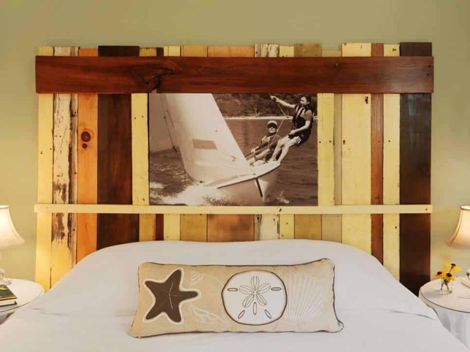 Photo Frame Headboard