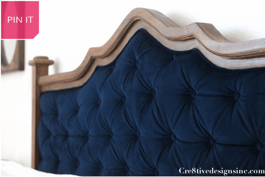 No-sew Headboard