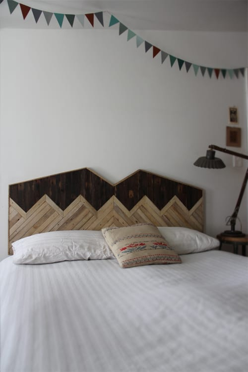 Up-cycled Headboard