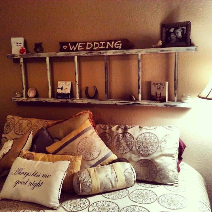 Ladder Turned Headboard