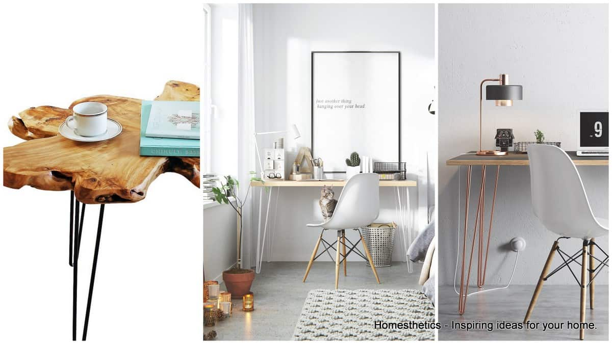 Hairpin Legs Side Table and End Table