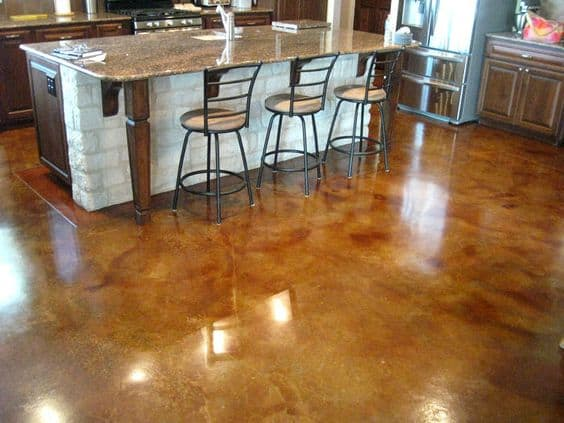 Paper And Concrete Flooring Options