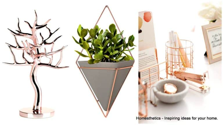 Best Rose Gold Home Accessories