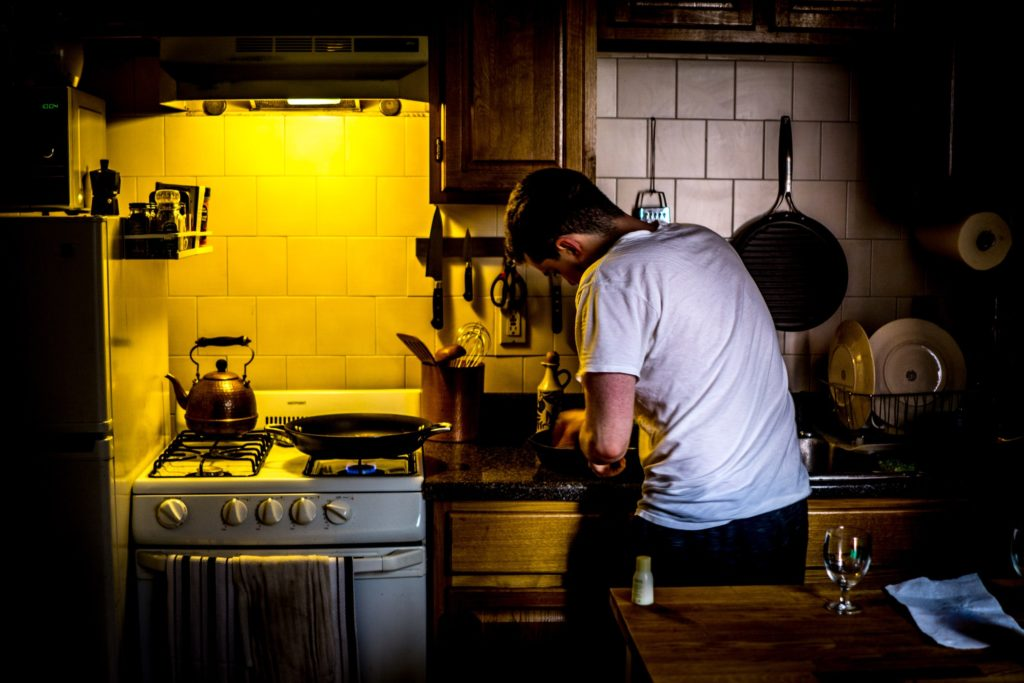 gas stove burners cleaning