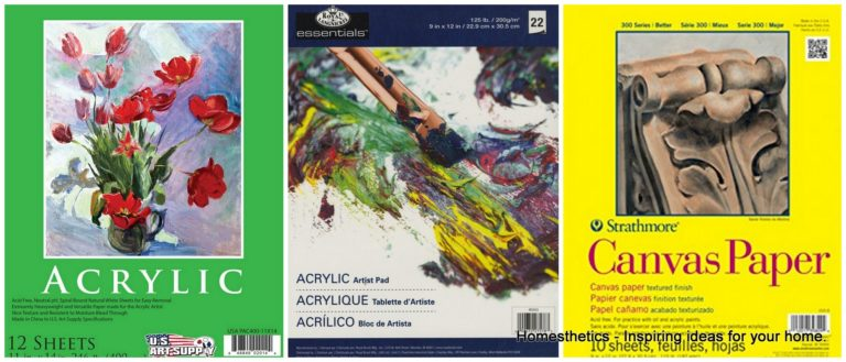 The 4 Best Paper Products for Acrylic Painting Right Now