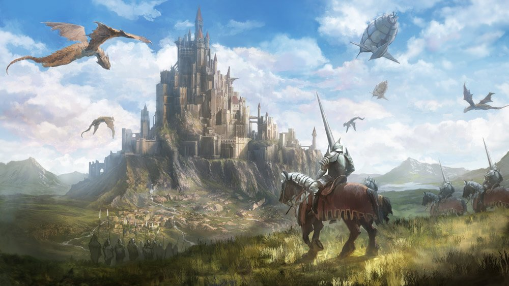 67 Fantasy And Medieval Buildings Cities Castles Concept