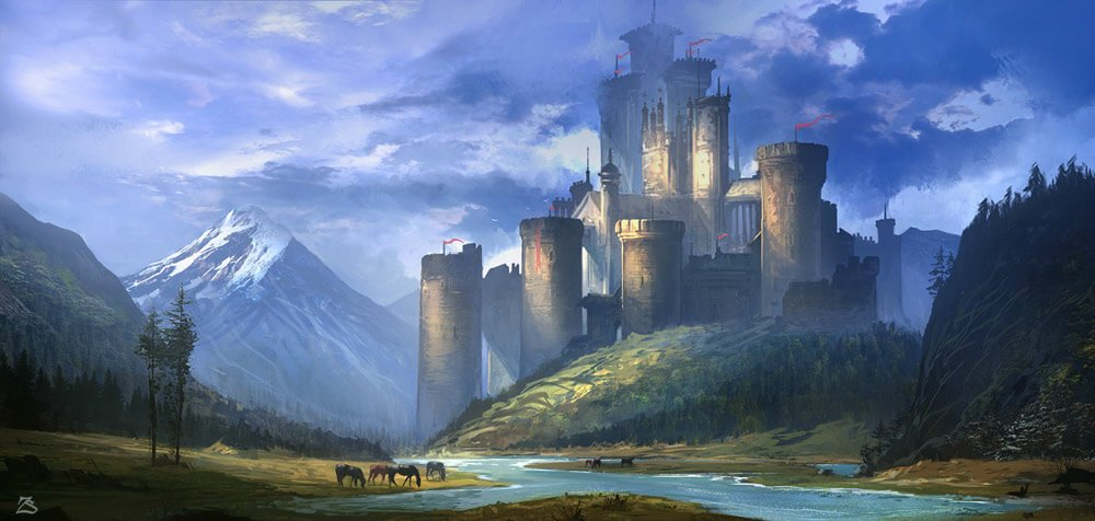 7.Castle In The Valley