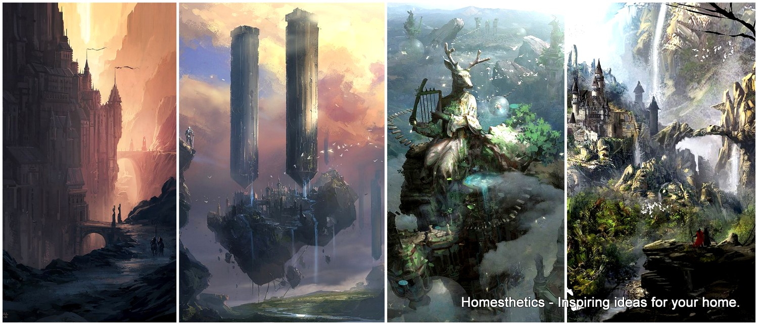 67 Fantasy And Medieval Buildings Cities Amp Castles