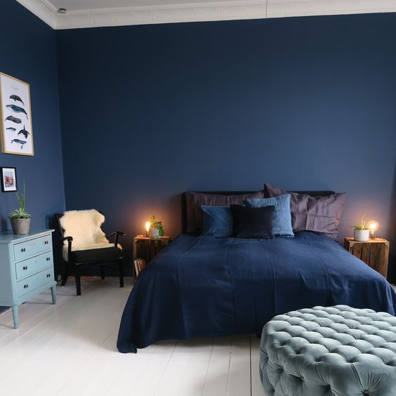 4. Blue Palettes Throughout