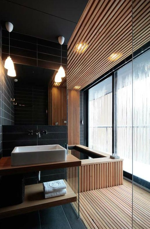 66 Epic Wood in Bathroom Design Ideas to Realize