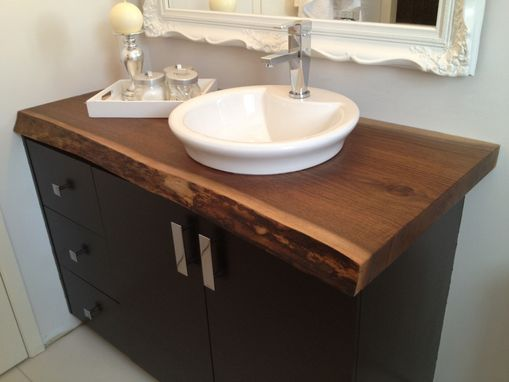 14. Wooden Counter on Regular Furniture