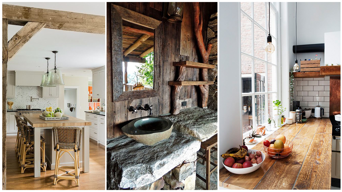 47 Splendid Rustic Countertop Ideas For Your Kitchen ...