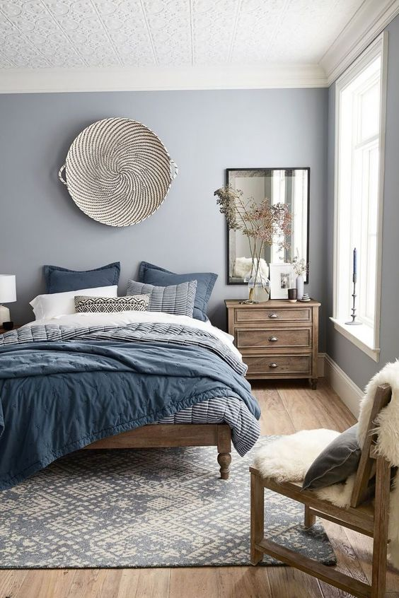 25. Delicate Textures Enhance Bedroom Interior Design